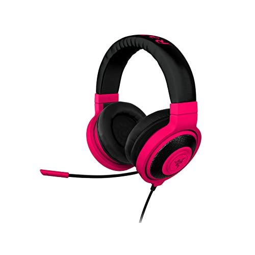 831a4d366a2 Razer Kraken PRO Over Ear PC and Music Headset - Neon Red