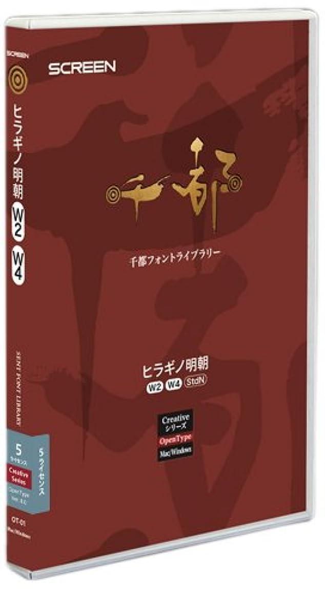 クリップパズルデジタルOpenType OT-01 ヒラギノ明朝 W2/W4 StdN Ver.8.0 5ライセンスパック