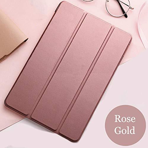 Custodia Flip per tablet Samsung Galaxy Tab S2 9.7 cover Smart Sleep wake funda Stand capa scheda solida per SM-T810 / T815 / T813 / T819 N-Oro rosa_porcellana