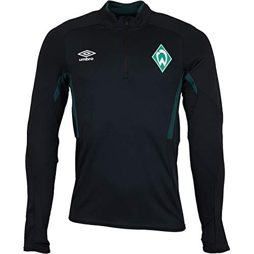 Werder Bremen Umbro Drill Top Longsleeve (M, schwarz)