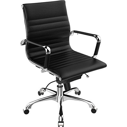 POLY & BARK Office Chair, Black