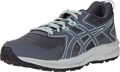 ASICS Women's Trail Scout Running Shoes, 9M, Carrier Grey/Mint Tint