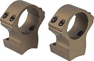 Talley X-Bolt Hells Canyon Riflescope Rings, 1in, Medium, Burnt Bronze Cerakote, HC940735