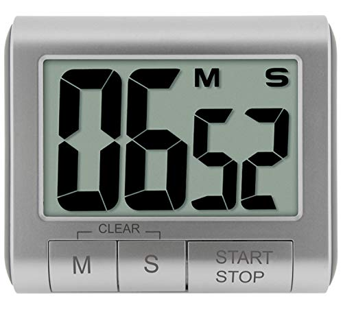 Digitaler Kurzzeitmesser, Farbe:silber