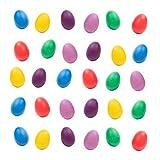 40 Set Eier Shaker Maracas Musikinstrument - 6 verschiedene Farben - Ideal für Osterpartygeschenke...