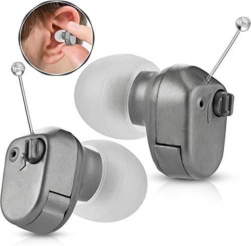 Amplificador de audición digital - en el canal (ITC) Par de dispositivos de amplificación de sonido en el oído