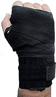 GymWar Gloves Mexican Stretch Spandex Bands/MuDay Thai/MMA/Kick Boxing/Cross Fit/Aerobics Hand Wrap (Free Size) - by War