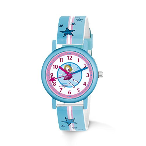 Prinzessin Lillifee Mädchen Analog Quarz Uhr mit Lederimitat Armband 2013205