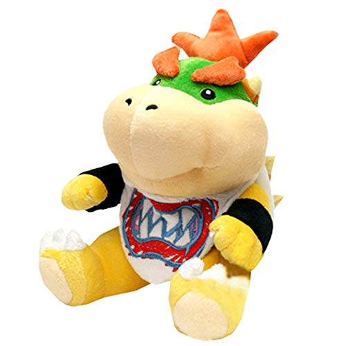18cm Super Mario Bros Plush Toys Bowser Koopa Koopalings Dragon Plush Doll Soft Stuffed Animal Doll