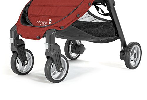 Baby Jogger City Tour Stroller | Compact Travel Stroller | Lightweight Baby Stroller with Backpack-Style Carry Bag, Perfect for Travel, Onyx