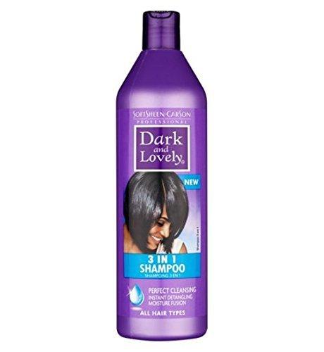 DARK & LOVELY Shampoing 3 en 1 soin pour cheveux pousse cheveux 500 ml