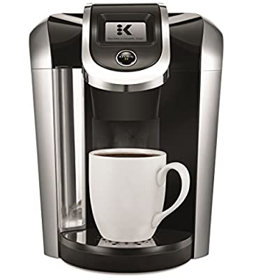 Keurig K475 Single Serve K-Cup Pod Coffee Maker with 12oz Brew Size and temperature control with Coffee Roasters Favorites Collection, Single Serve Coffee K-Cup Pod, Variety, 40 from Keurig