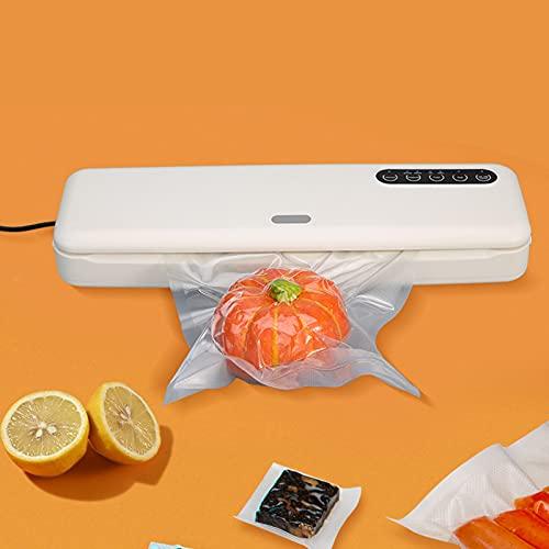 Máquina de sellado al vacío continuo, Máquina automática de sellado de alimentos, Sellado con una tecla, Máquina de sellado al vacío de alimentos pequeños domésticos/comerciales