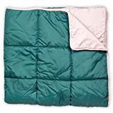 Leisure Co Ultra-Portable Outdoor Camping Blanket - Windproof, Warm, Lightweight and Compact Packable Blanket - Perfect for...