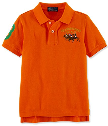 Polo Ralph Lauren Boys Long-Sleeve Pony Logo Mesh Polo Shirt