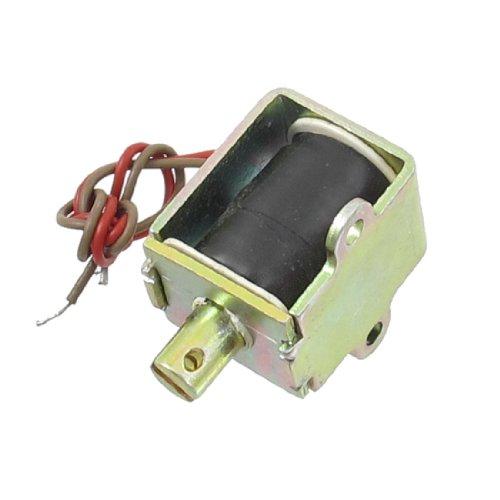 Aexit Électro-aimant de solénoïde à cadre ouvert à tirette de force CA 220V 10mm 0.49Kg VG101230E401696C