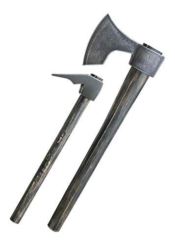 Shadow Cutlery Vikings - Waffen des Floki Axt und Dechsel mit Holztafel und Zertifikat ab 18 Jahren
