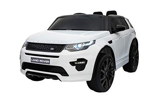 Original Land Rover Discovery Sport Kinderauto Kinderfahrzeug Elektroauto (Weiss)*