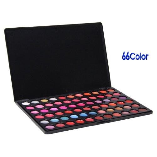 FACILLA® Palette rouge à lèvres lip gloss 66 couleurs maquillage pro