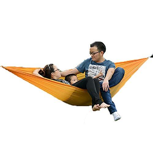 Novopus Hamac:Naturehike Hamac de Camping Extérieur Portable, Pliable Toile pour 2 Personne Plage/Camping/Extérieur - Orange:Orange