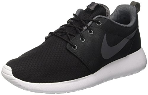 Nike Roshe One Se, Scarpe da Ginnastica Uomo, Nero (Black/Dark Grey/Dark Grey/Whit), 41 Eu
