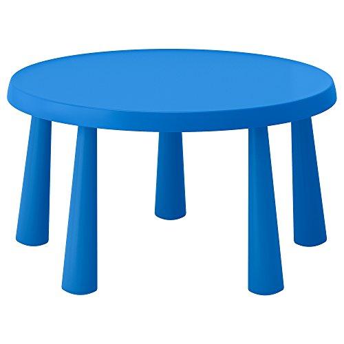 IKEA Mammut Children'S Table, Indoor/Outdoor Blue