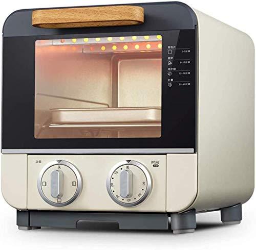 Horno eléctrico de 9L, horno-multifunción de horno-1000W-panadería: salmón a la parrilla de pan de salmón de horneado, panadería, hornee y pan panorámica