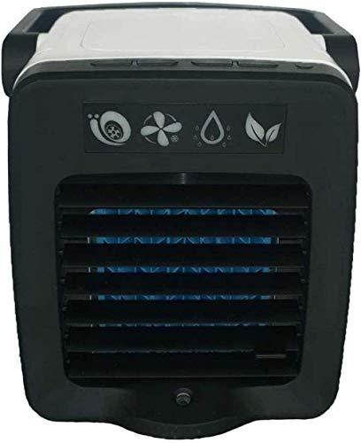 XBSLJ Refrigerador de Aire portátil 3 en 1 Unidad de acondicionamiento Ventilador Humidificador USB silencioso Escritorio de Verano para Oficina, hogar, Dormitorio, Viajes