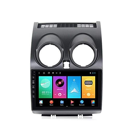 ADMLZQQ Android10.0 Radio de Coche Audio estéreo Pantalla táctil HD para Nissan Qashqai 2006-2013 con Control de Volante navegación GPS Integrado Carplay+DSP(M300/PX6) con cámara Trasera,M150,2+32G