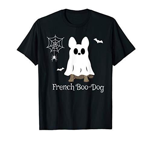 French Bulldog Halloween French Boo-Dog Dog Gift Tee T-Shirt