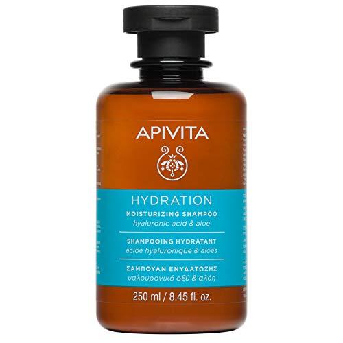 Apivita Champú Hidratante con Hialurónico y Aloe 250 ml