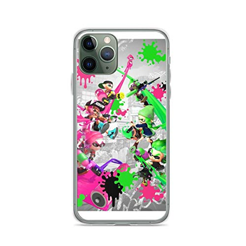 Splatoon 2 Poster Phone Case Compatible with iPhone 12 11 X Xs Xr 8 7 6 6s Plus Pro Max Samsung Galaxy Note S9 S10 S20 Ultra Plus