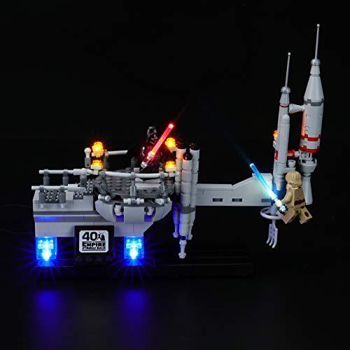 BRIKSMAX Kit de iluminación LED Star Wars Bespin Duel - Compatible con Lego 75294 Building Blocks Model- No incluir el Conjunto de Lego