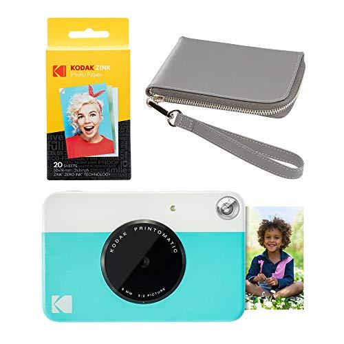 Kodak PRINTOMATIC - Kit de funda para cámara de impresión instantánea (azul)