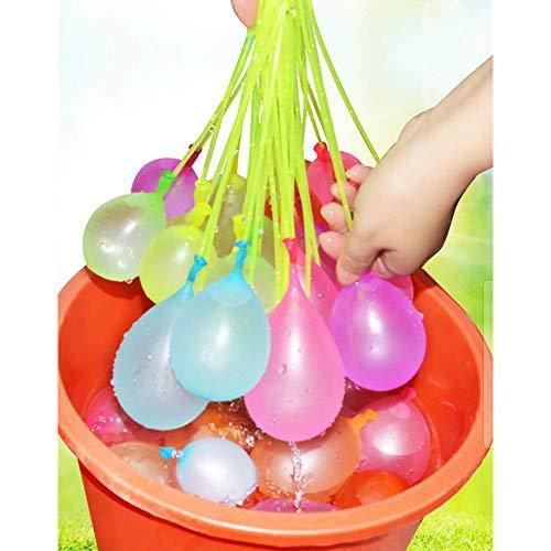 222 Wasserballons   Selbstbindend, selbstdichtend, schnell befüllende Wasserbomben   Sofortiger Sommerspaß   Wasserkampf Domination
