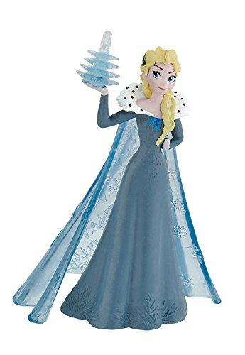 Bullyland 12940 - Spielfigur, Walt Disney Olafs Frozen Adventure, Elsa, liebevoll handbemalte Figur, PVC-frei, tolles Geschenk für Jungen und Mädchen zum fantasievollen Spielen