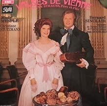 Valses de Vienne (Johann Strauss) opérette - Dir : Jean Doussard LP Set