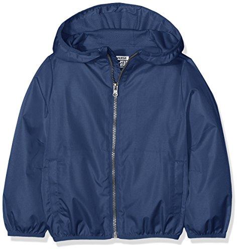 Converse Jungen Packable Full Zip Jacket Jogginganzug, Blau (All Star Navy B9P), 12-13 Jahre
