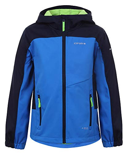 ICEPEAK Jungen ICEPEAK LAURENS JR Softshell Jacke, Blue/Black, XL