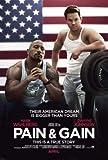 Pain and GAIN - Dwayne Johnson – Film Poster Plakat