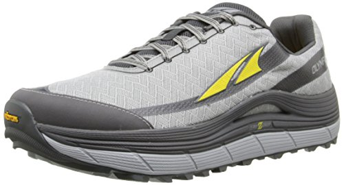ALTRA Men's Olympus 2-M, Silver/Cyber Yellow, 7 M US