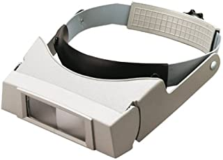 General Tools 950-5 Flip-down 2.25x Power Binocular Head Magnifier, Hands Free