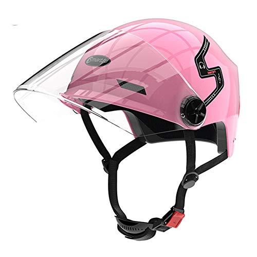 WERNG Impermeable Inteligente del Casco de Ciclista, Máscara Desmontable/Altavoz Bluetooth/USB de Carga/Música...