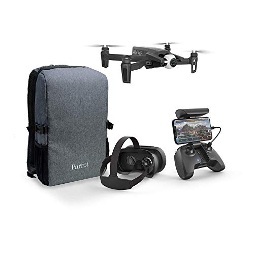Parrot Anafi - FPV Drone Set - Lightweight and Foldable Quadcopter - FPV...