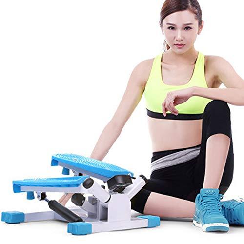 ZHAOK Side-Stepper,Mini-Fitnessgerät, Trainingscomputer mit vielen Funktionen, Fettverbrennung, Gesundheit fördern, Wirkt entzündungshemmend und analgetisch