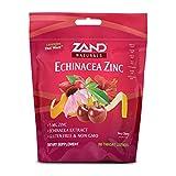 Zand Immunity Cherry Echinacea Zinc HerbaLozenge Throat Drops | No Corn Syrup or Cane Sugar (80 Lozenges)