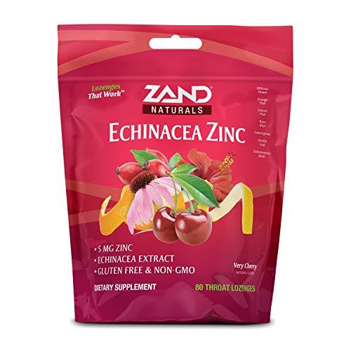 Zand HerbaLozenge Cherry Echinacea Zinc | 80 Lozenge