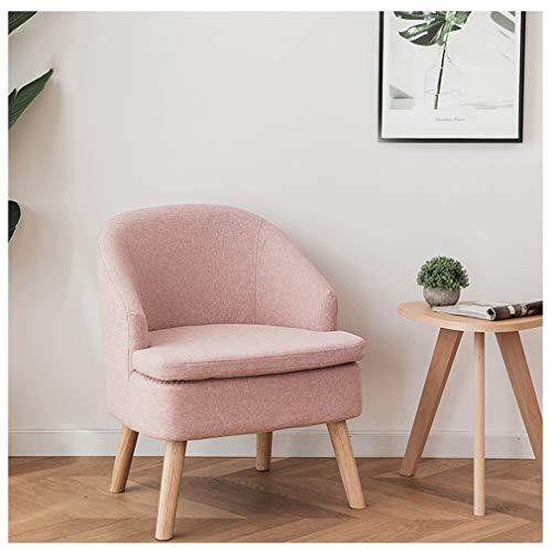 OCYE Wohnzimmerstühle aus Stoff, Esszimmerstuhl Küchenstuhl Polsterstuhl,mit dickem Sitzkissen, mit abnehmbarem Bezug, TV Sessel Lounge Relaxsessel Lesesessel