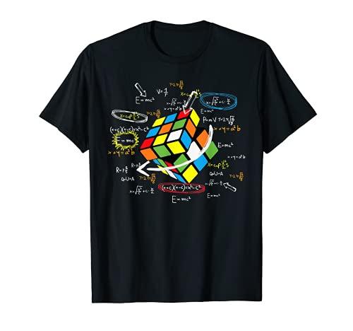 Cool Math Rubik Player Cube Math Lovers T-Shirt