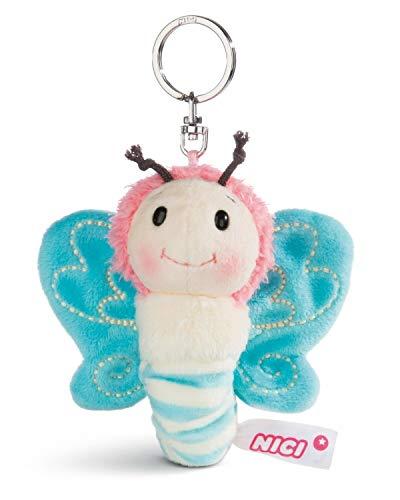 Nici - 44931 - Schlüsselanhänger, Schmetterling, 10cm, blau